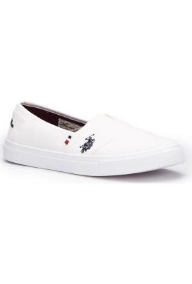 U.S. Polo Assn. Lillia Beyaz Kadın 337 Ayakkabı