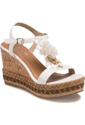 Miss F S17002 Beyaz Kadın 545 Ayakkabı