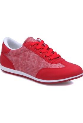 Carmens U1204A Kırmızı Kadın Sneaker Ayakkabı
