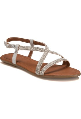Miss F Ds17043 Beyaz Kadın 545 Ayakkabı