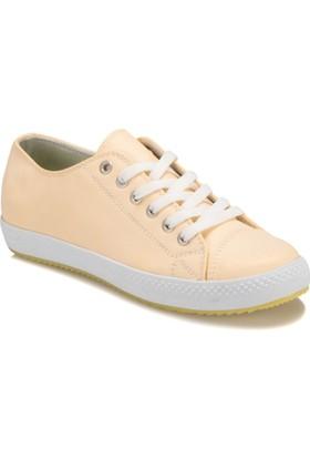 Art Bella U2454 Sarı Kadın Sneaker Ayakkabı