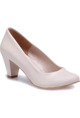 Miss F N16036 Bej Kadın Gova Ayakkabı