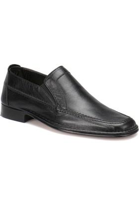 Garamond 17 M 1366 Siyah Erkek Deri Klasik Ayakkabı