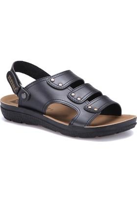 Flexall Hody M 1602 Siyah Erkek Klasik Ayakkabı