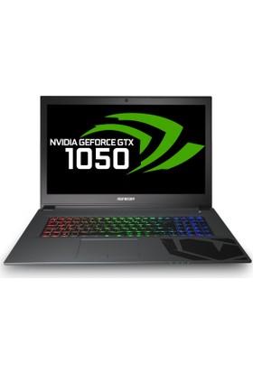"Monster Abra A7 V7.1 Intel Core i7 7700HQ 8GB 240GB SSD GTX1050 Freedos 17.3"" FHD Taşınabilir Bilgisayar"