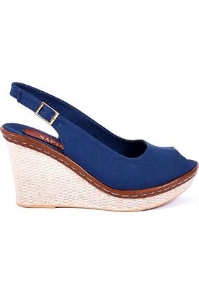 Sapin 25936 Mavi Kadın Sandalet