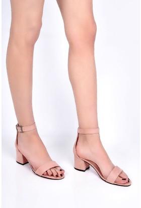 Sapin 25912 Kadın Sandalet Pudra