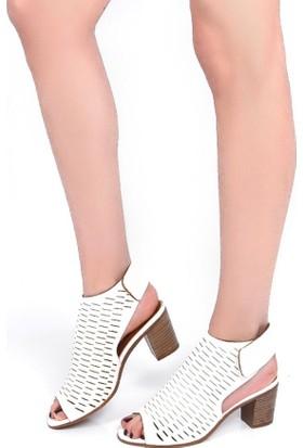 Sapin 25976 Kadın Sandalet Beyaz