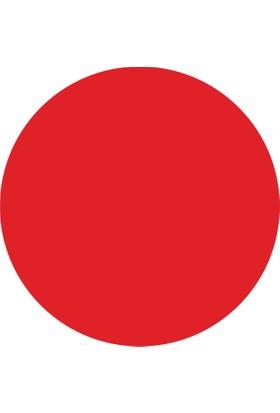 DirektAlYapışkanlı Pano-Yuvarlak Kırmızı