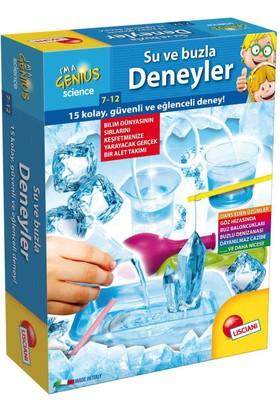 Lisciani Su Ve Buzla Deneyler / Çocuklar İçin Bilim Deney Seti / 15 Kolay Güvenli Ve Eğlenceli Deney