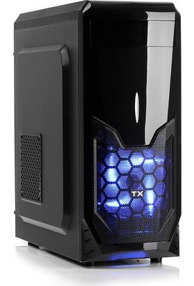 TX K8S 500W 1xMavi LED Fan USB3.0 ATX Kasa (TXCHK8S500)