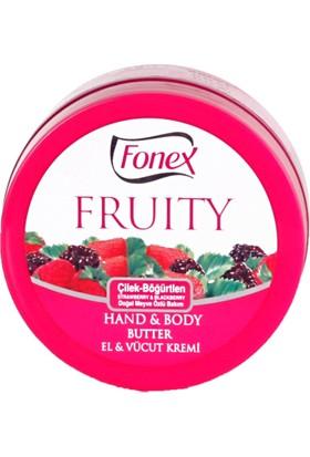 Fonex El ve Vücut Kremi Çilek - Böğürtlen 150 ml