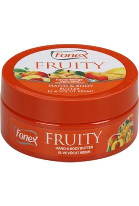 Fonex El ve Vücut Kremi Kayısı - Mango 150 ml
