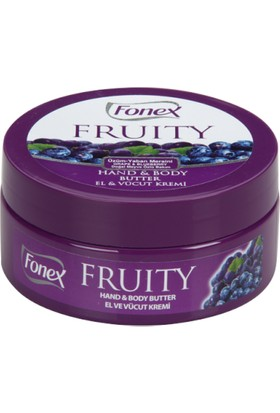 Fonex Üzüm - Yaban Mersini El ve Vücut Kremi 150 ml