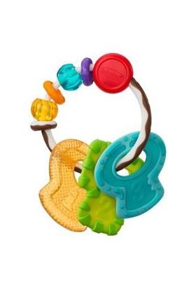 Infantino Kaydır ve Çiğne Dişlik Anahtarlık