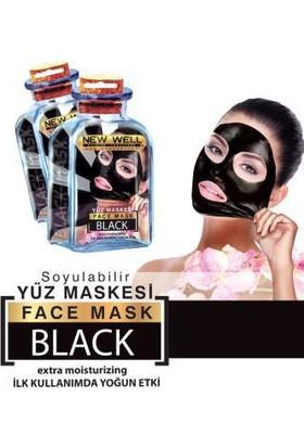 New Well Siyah Maske Tek Kullanımlık 15 ml