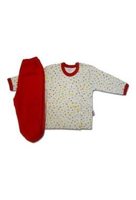 Sema Baby Bebek Pijama Takımı - Kırmızı