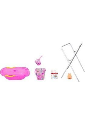 Sevi Bebe Desenli Bebek Banyo Seti 6 Parça - Pembe