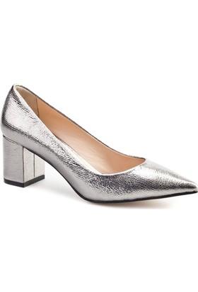 Cabani Topuklu Günlük Kadın Ayakkabı Metal
