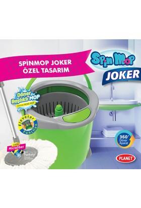 Trend Spin Mop Joker Asansör Sistemi 360 Döner Başlıklı Mop Temizlik Seti
