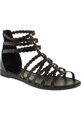 Greyder 51193 Zn Casual Siyah Bayan Sandalet