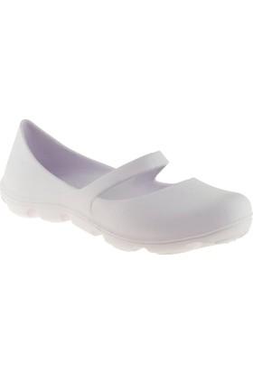 Muya 92120 Günlük Beyaz Bayan Ayakkabı