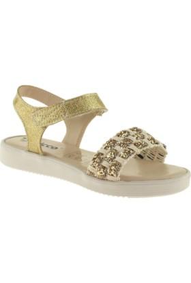 Vicco 928.Z.763 Kız Çocuk Altın Sandalet