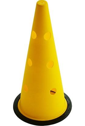 USR 42 cm Büyük Boy Delikli Sarı Antrenman Hunisi
