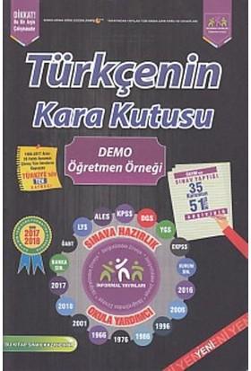 İnformal Türkçenin Kara Kutusu Demo