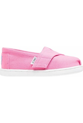 Toms 10009918 Bubblegum Pink Cnvs Çocuk Günlük Ayakkabı