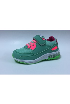 Rabum Su Yeşili Cırtlı Çocuk Spor Ayakkabı