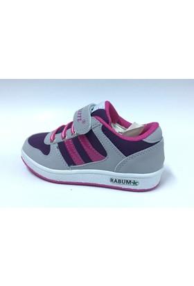 Rabum Buz Mor Cırtlı Çocuk Spor Ayakkabı