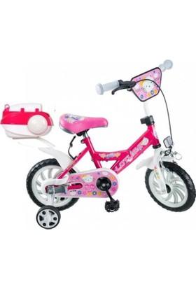 Lotus 12 Jant Çocuk Bisikleti - Pembe