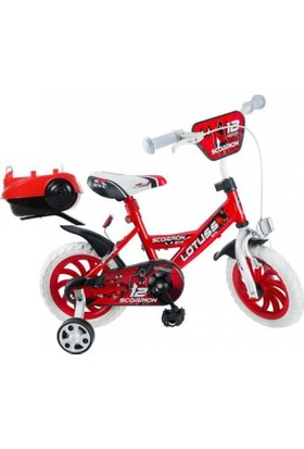 Lotus 12 Jant Çocuk Bisikleti - Kırmızı