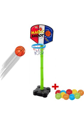 Trend Magic Shoot Ayaklı Basket Potası + 10 Oyun Topu