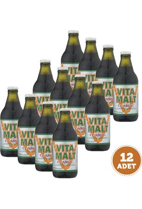 VitaMalt Classic Emziren Anne İçeceği 330 ml - 12'li Ekonomik Paket