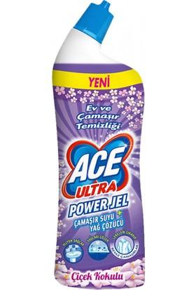 Ace Ultra Power Jel Çiçek Kokulu