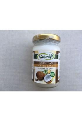 Organik Soğuk Sıkım Naturlife Hindistan Cevizi Yağı 100 Gr (Coconut Oil)