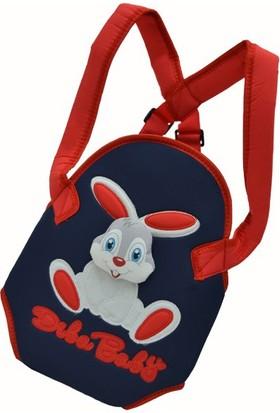 Diba Baby Tavşanlı Kanguru Kırmızı - Lacivert