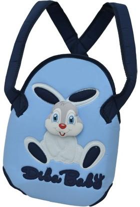 Diba Baby Tavşanlı Kanguru Mavi - Lacivert