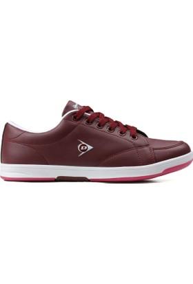 Dunlop Bordo Kadın Ayakkabısı 712405Z B