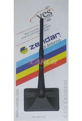 Nettedarikcisi Oto Anten Süs Düz 16cm Y-020