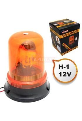 Nettedarikcisi Oto Tepe Lambası 12V Dönerli GLX Tip H1 Sarı