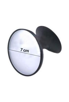 Nettedarikcisi Oto İç Dikiz Ayna Vantuzlu Bombeli Yuvarlak Küçük