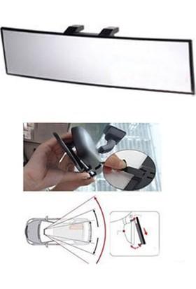 Nettedarikcisi Oto İç Dikiz Ayna Makaslı Geçme Tip Bombeli 30cm
