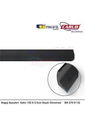 Nettedarikcisi Oto Bagaj Çıtası Kalın 135X5.5cm Siyah Üniversal