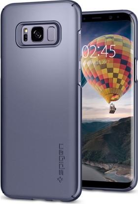 Spigen Samsung Galaxy S8 Kılıf Thin Fit Orchid Gray - 565CS21623