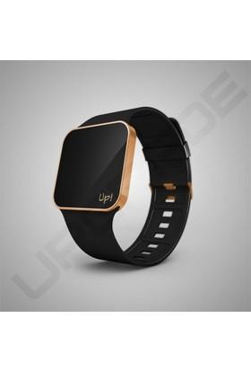 Upwatch Upgrade Matte Rose Gold & Black Unisex Kol Saati