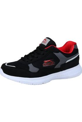 Slazenger Endered Kadın Günlük Ayakkabı Siyah - Kırmızı