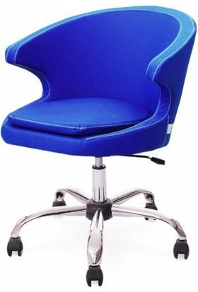 Neodesign Ofis Demre Çalışma Koltuğu Mavi